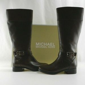 New  Size 5.5 Michael Kors Brown Bryce Boots